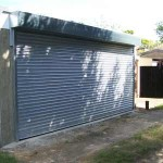 Steel roller shutters