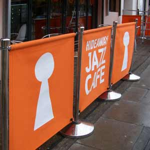 Jazz cafe banners