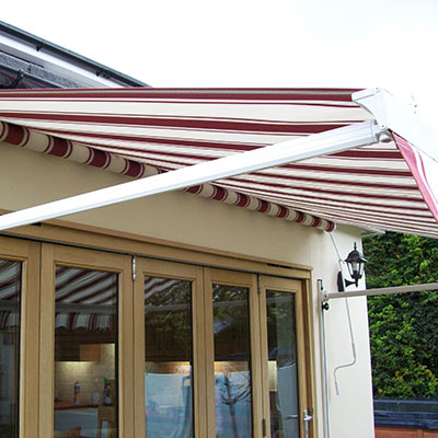 Slide Arm Sun Awning Drathmore Shutters And Blinds