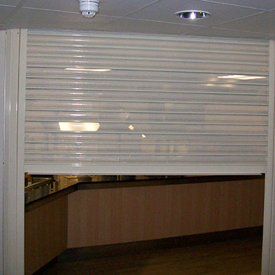 Night View Shutter Ideal For Shops Drathmore Shutters