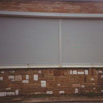Continental Style High Security Exturded Shutter