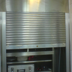 Heraol Stainless Steel High Security Shutter Drathmore