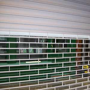 Galvanised Steel Part Grille Shutters Drathmore Shutters