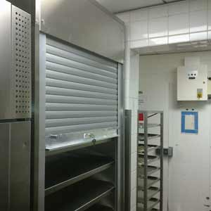 Hideaway shutters for cabinets