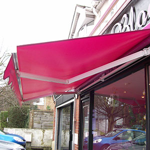Shop awnings and blinds